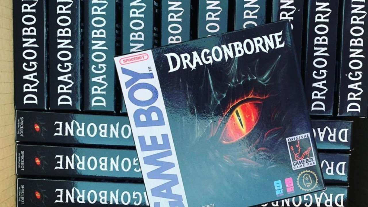 2020 Isn't All Bad, Because The Game Boy Is Getting A Brand-New RPG Called Dragonborne