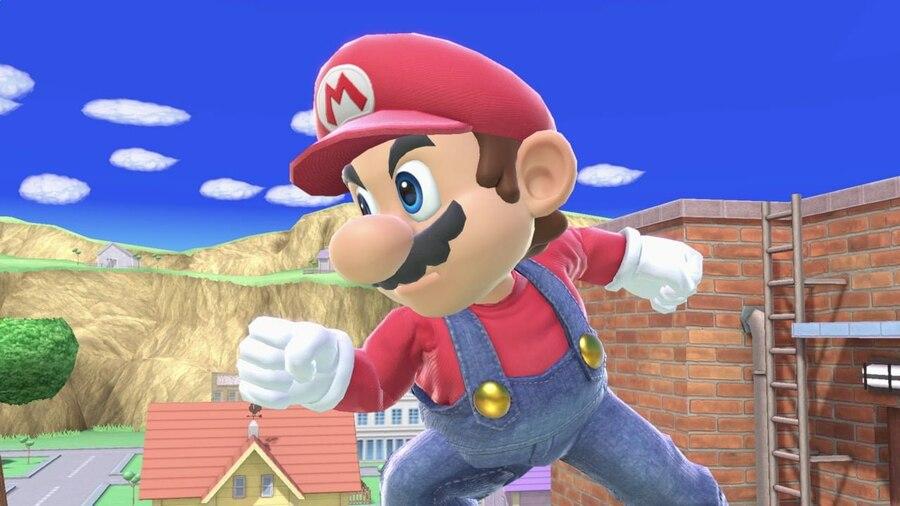 Super Smash Bros Ultimate Mario