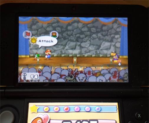 Paper Mario Top Screen