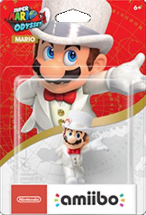 Mario Wedding Outfit amiibo Pack