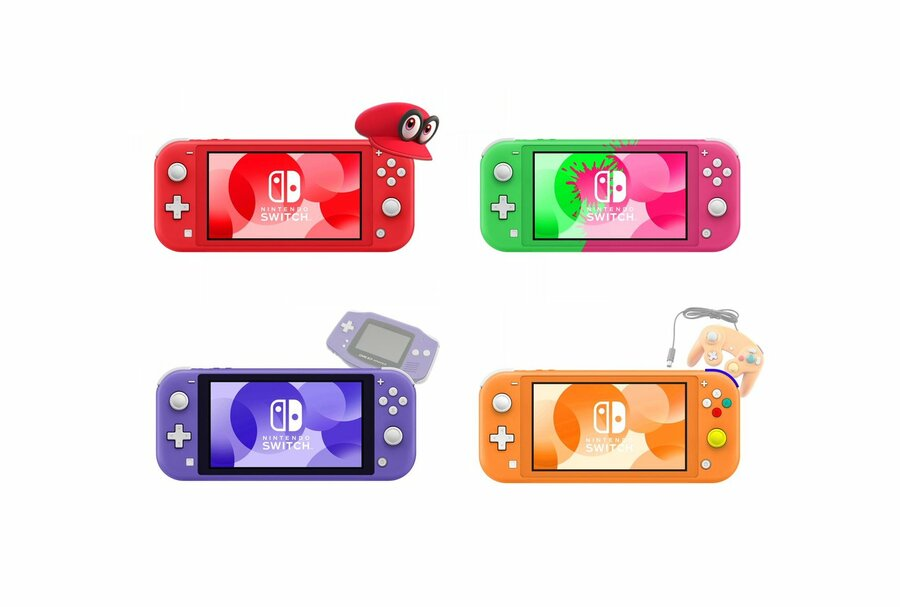 Switch Lite Concepts