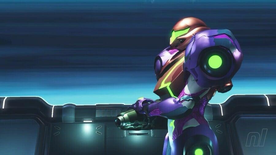 Metroid Dread Golzuna Boss Battle