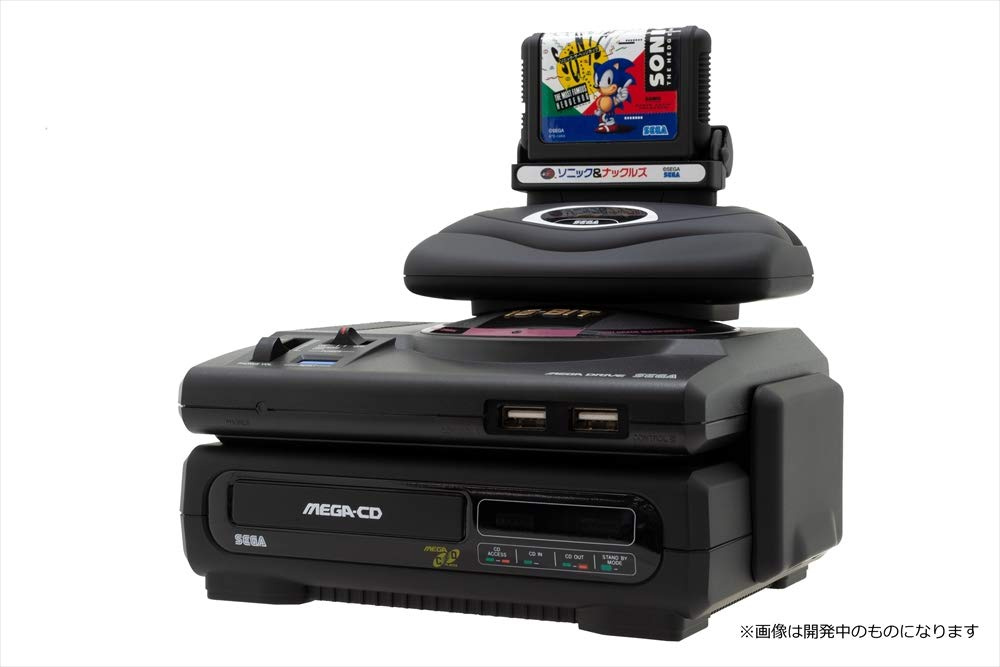 Mega Drive / Genesis Mini Gets Tiny Mega CD, 32X, And Carts