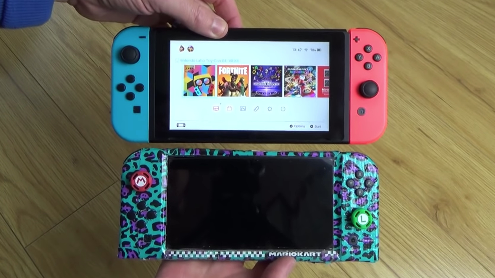 Fan Creates Homemade Switch Mini Console, Beating Nintendo To The Punch