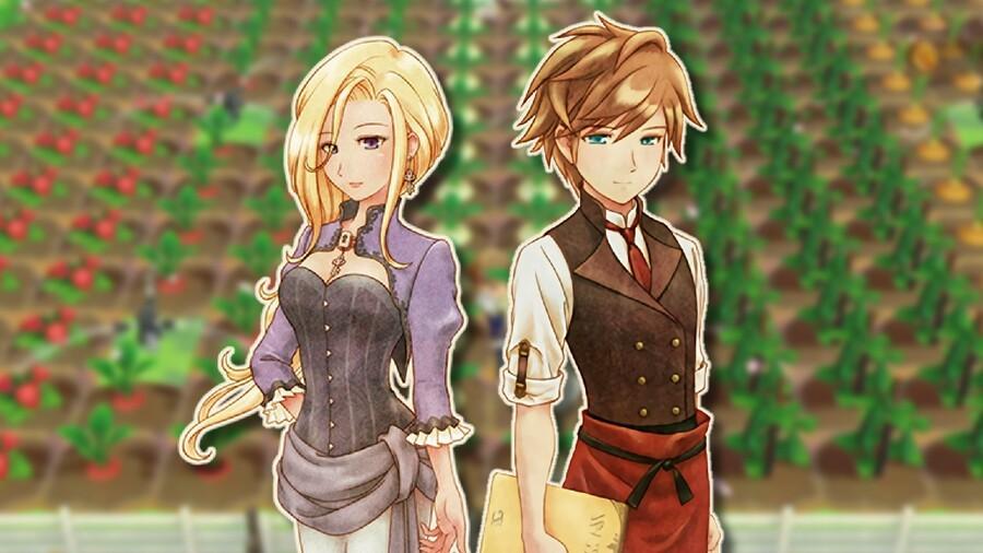 Iris & Raeger from Story of Seasons