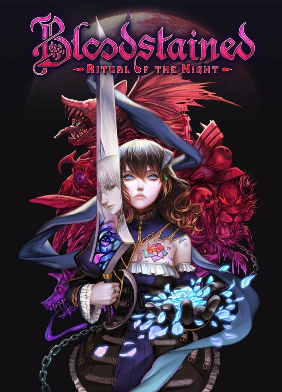 Bloodstained Ritual Of The Night Boxart