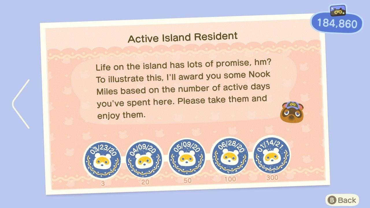 """Today Is The First Day You Can Get The """"Play For 300 Days"""" Achievement In Animal Crossing: New Horizons"""