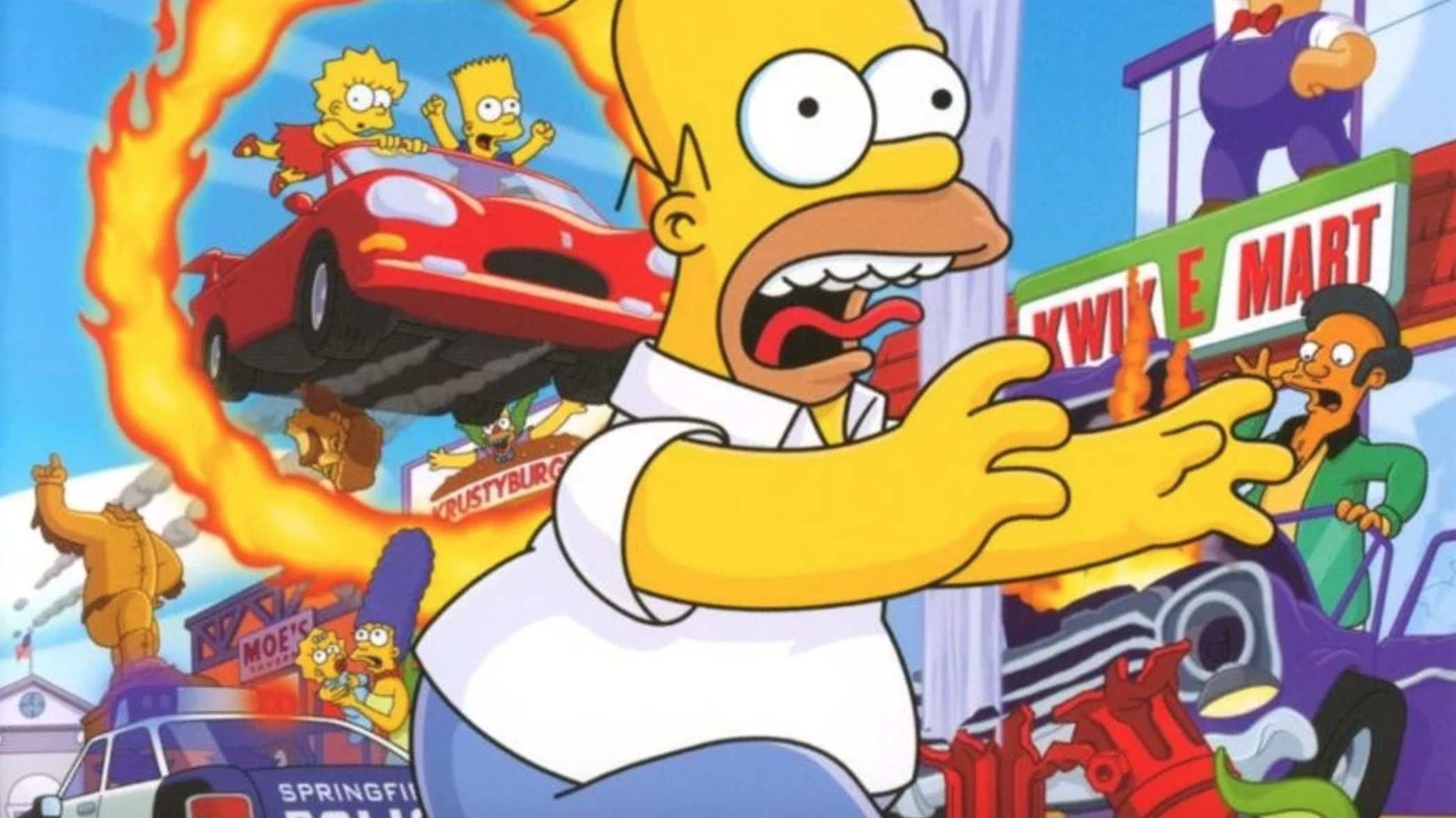 "The Simpsons: Hit & Run Producer Says It'd Be ""Wonderful"" To Work On A Remake"