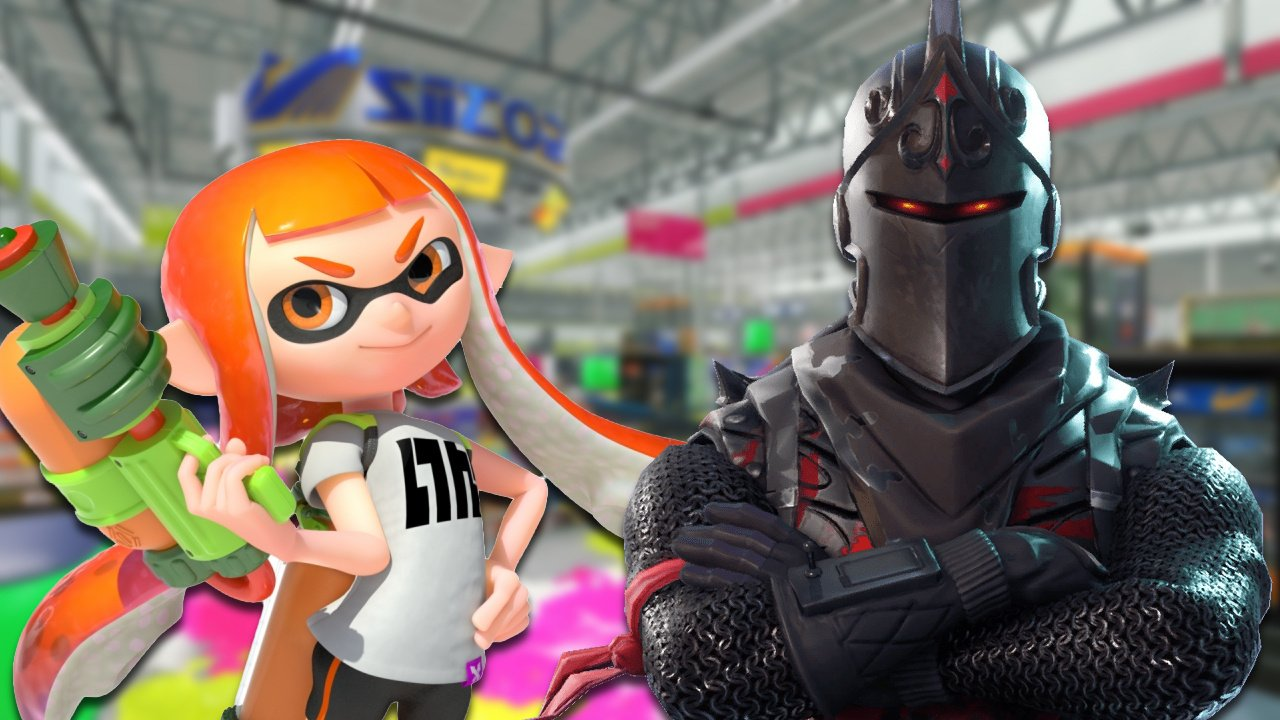 Rumour: Fortnite Might Be Getting A Splatoon Crossover