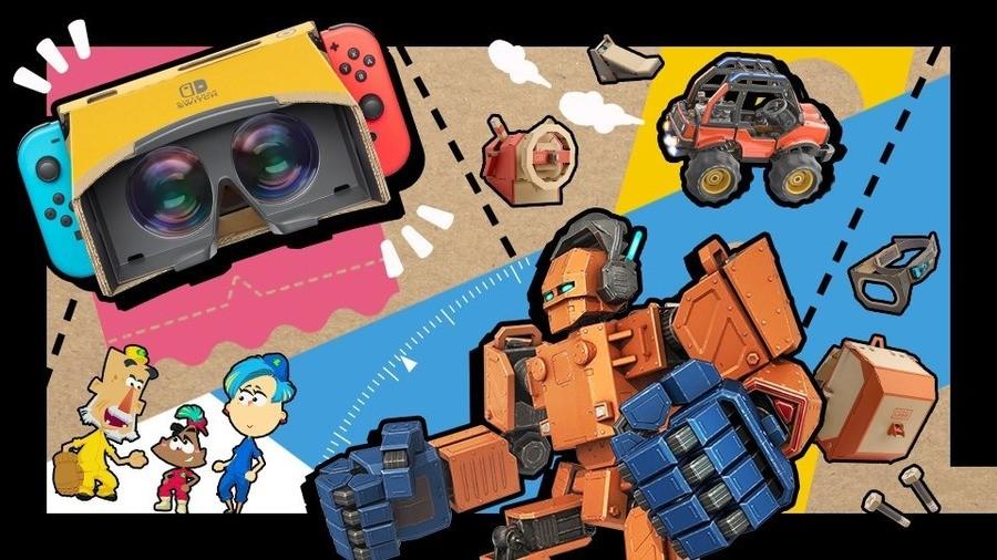 Nintendo Labo Smash Board