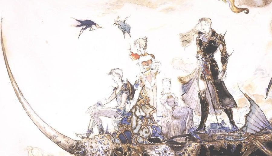 Final Fantasy V Concept Artwork