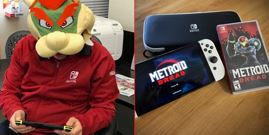 Doug Bowser'ın Metroid Dread kopyası ve yeni Switch OLED'i!