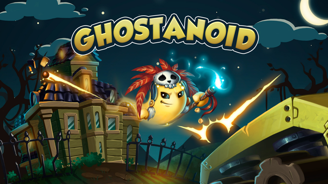 Another Ghost-Filled Mansion Comes To Switch In New Puzzler Ghostanoid