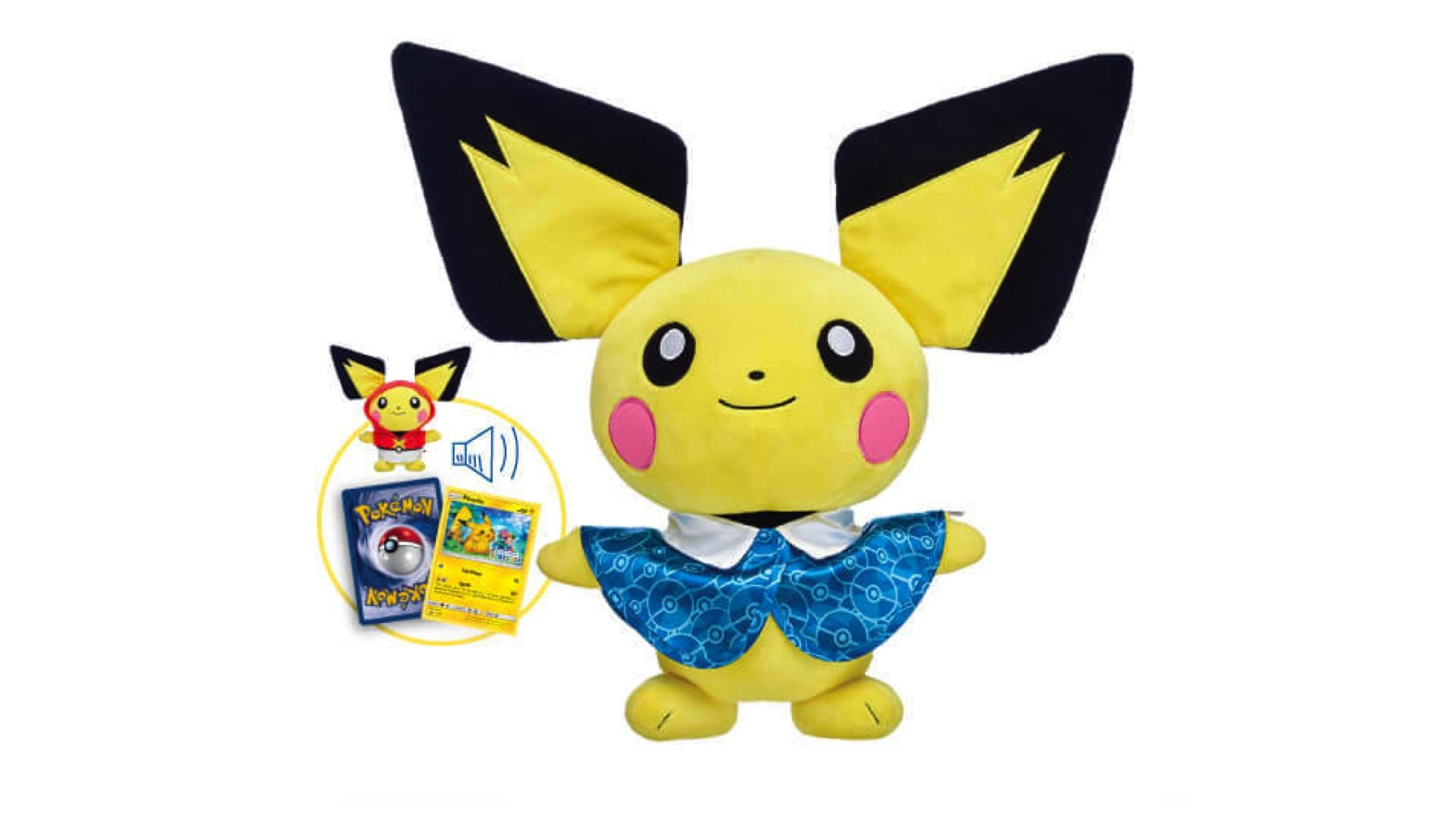 Pichu Is Your Next Pokémon Build-A-Bear, Available To Buy Now