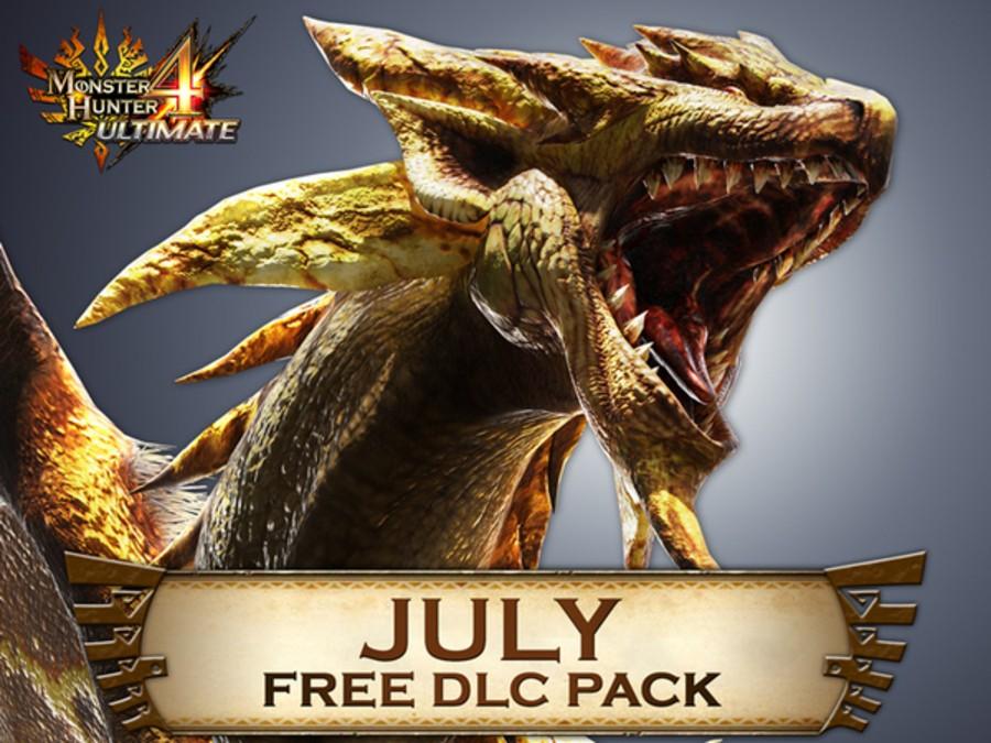 MH4 U DLC July