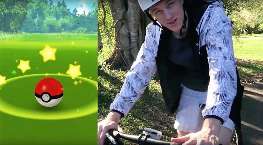 Pokémon GO Cycling