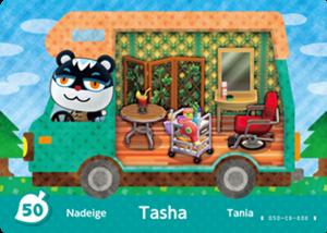 Tasha amiibo card