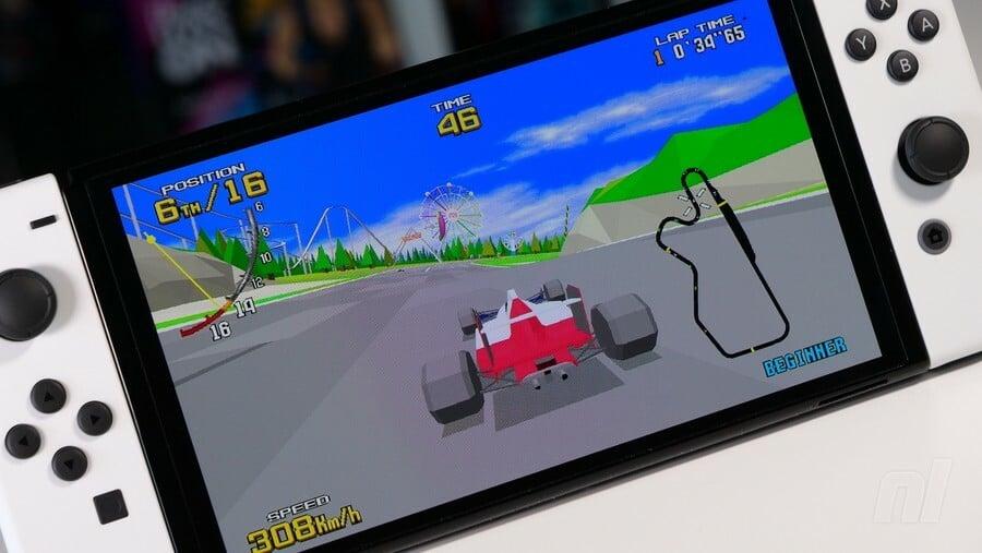 Switch OLED Virtua Racing