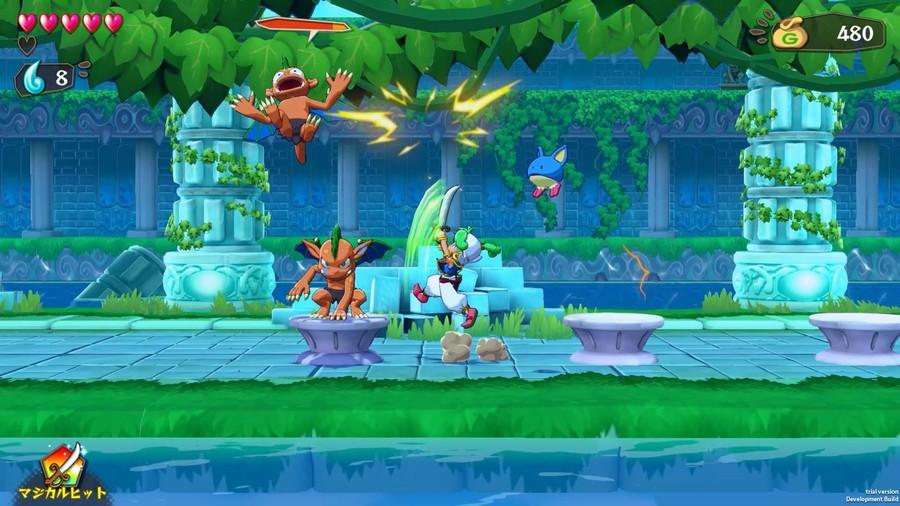Wonder Boy Asha In Monster World Screenshot 2