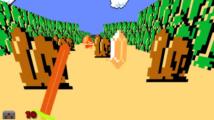 Modder Tries To Create A First-Person 8-Bit Zelda Game Inside DOOM
