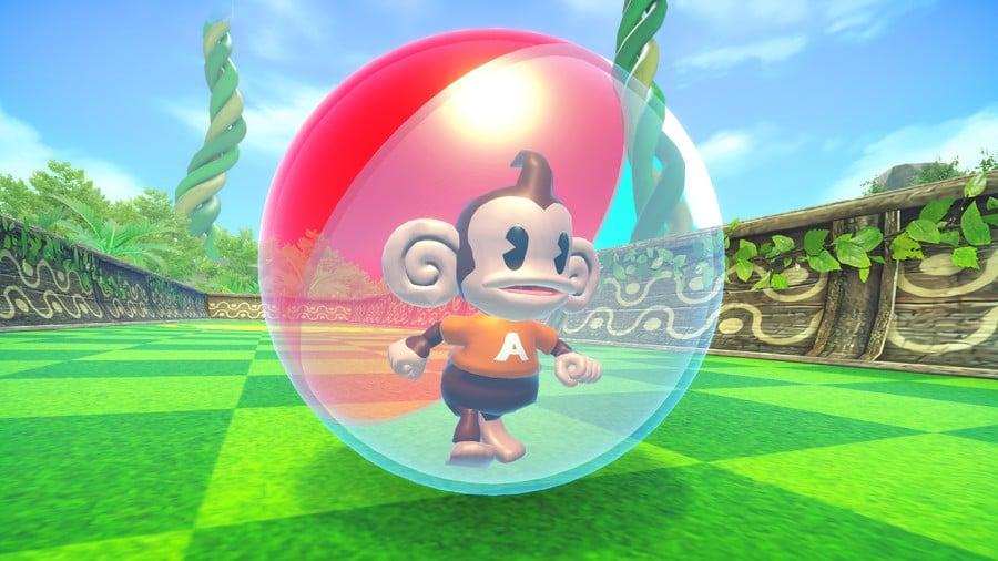 """Classic AiAi"" in Super Monkey Ball Banana Mania"