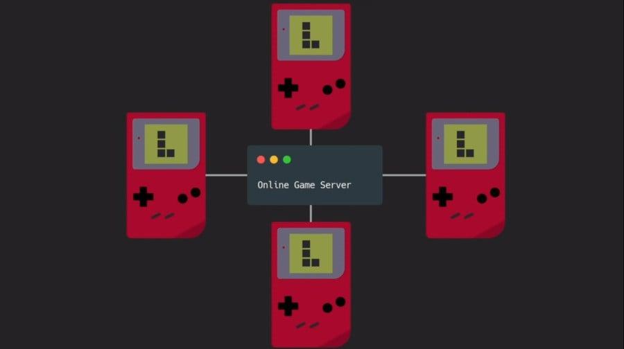 Game Boy Tetris Çevrimiçi Kırpma