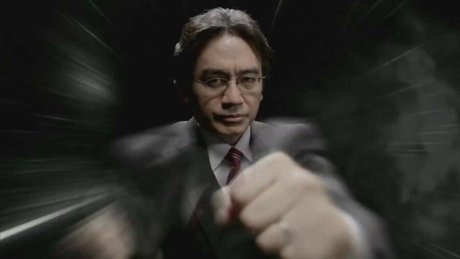 Smash Bros Iwata