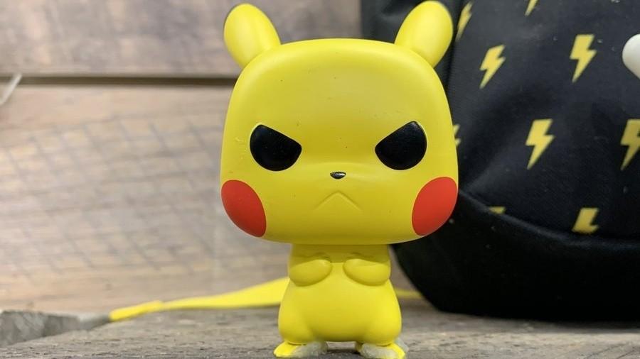 Angry Pikachu Pop