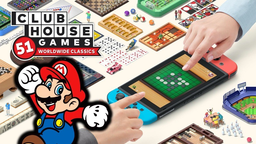 Clubhouse Games 51 Worldwide Classics Switch