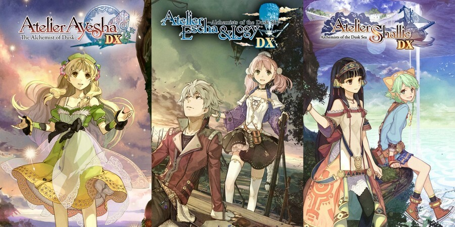 Atelier Dusk Trilogy Deluxe Pack (Switch)