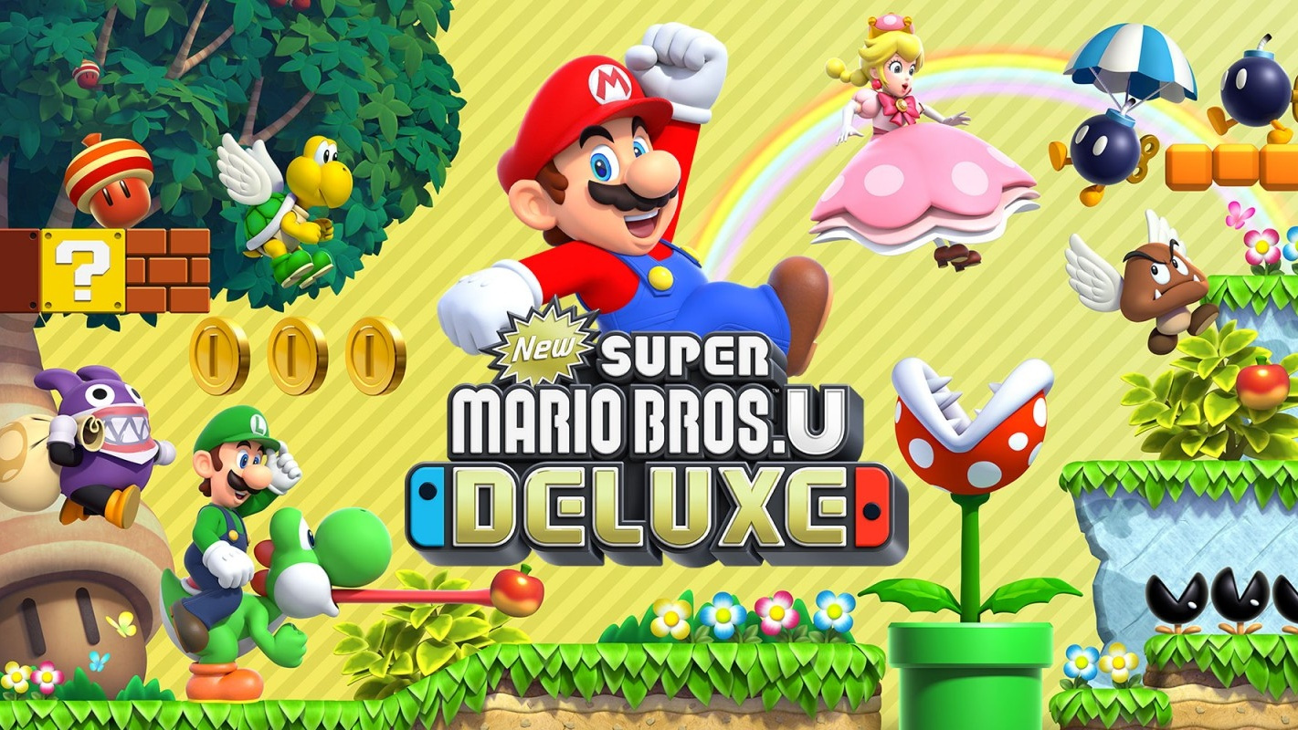 New Super Mario Bros  U Deluxe File Size Revealed, Just 100MB Larger