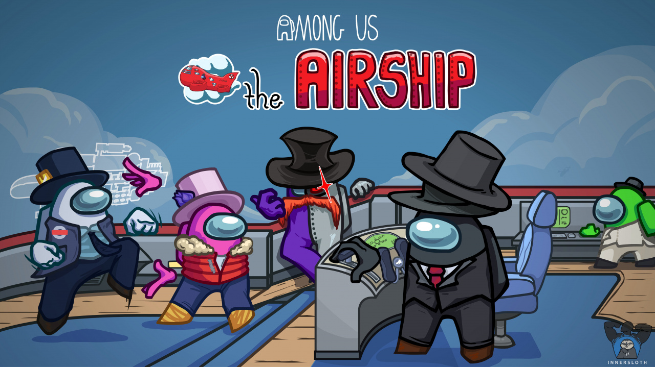 Among Us' Airship Level Is Here