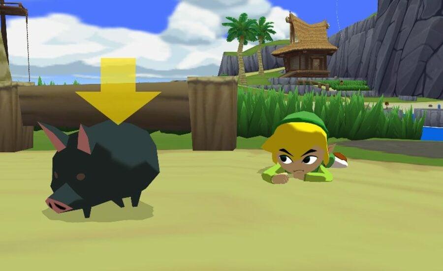 Wind Waker Black Pig Cropped For Header