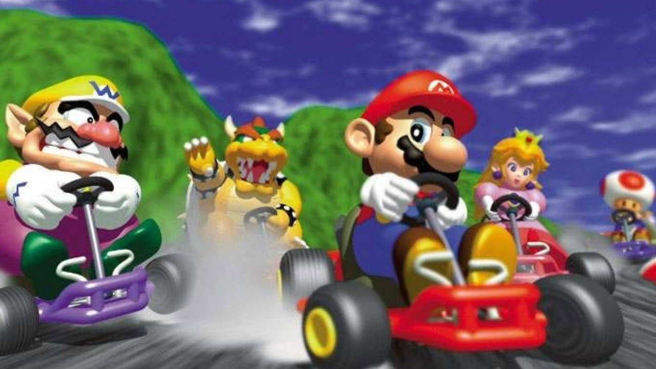 Check Out The Title Screen Music Of This Mario Kart 64