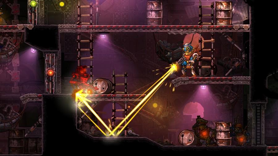 Steam World Heist Screenshot 01