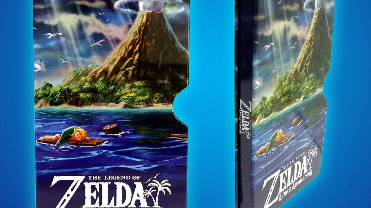 Behold The Metal Slipcase For Zelda: Link's Awakening On Switch Which You'll Never Own