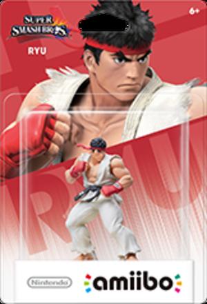 Ryu amiibo Pack