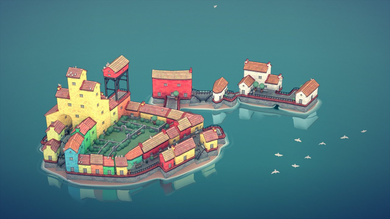 Townscaper Is An Idyllic Toy-Like Game That'll Melt All Your Worries Away