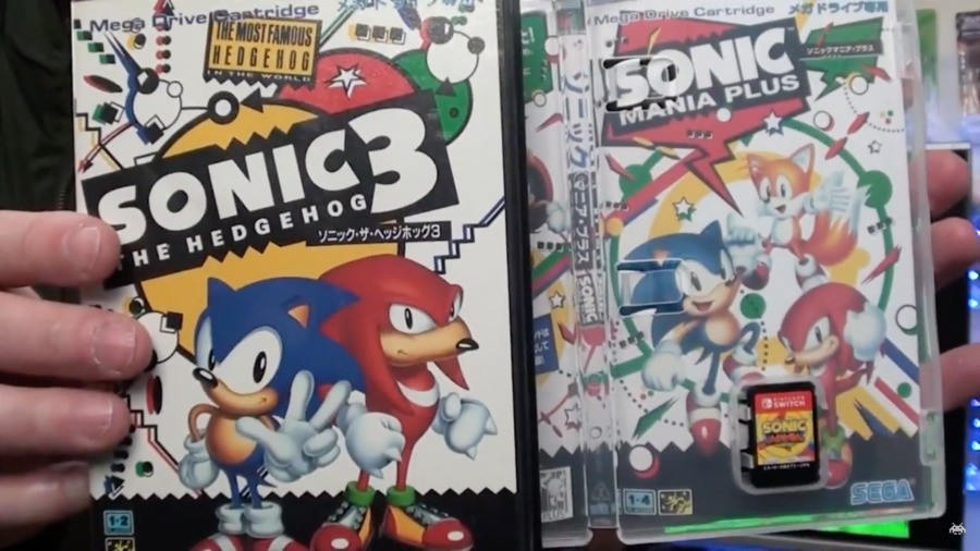 Sonic Mania Plus Reversible Cover