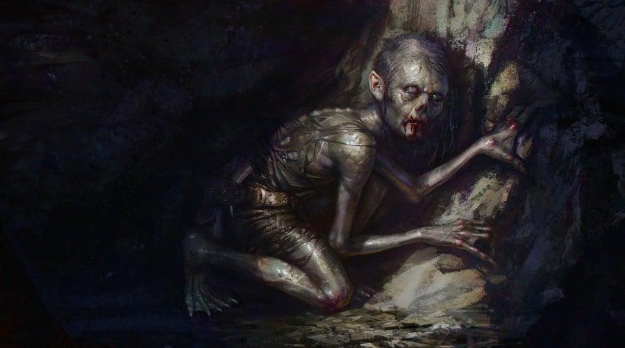 Gollum's journey commences by Frédéric Bennett