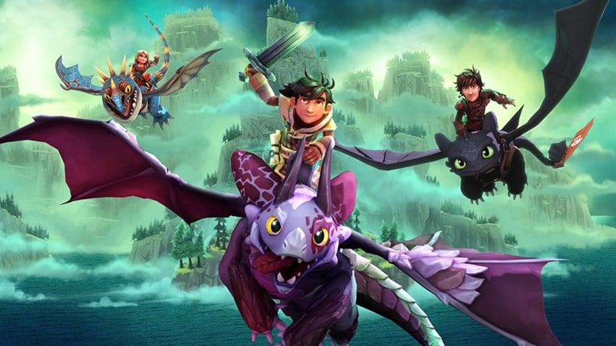 Spel Från Draktränaren 2 Ride Dragon