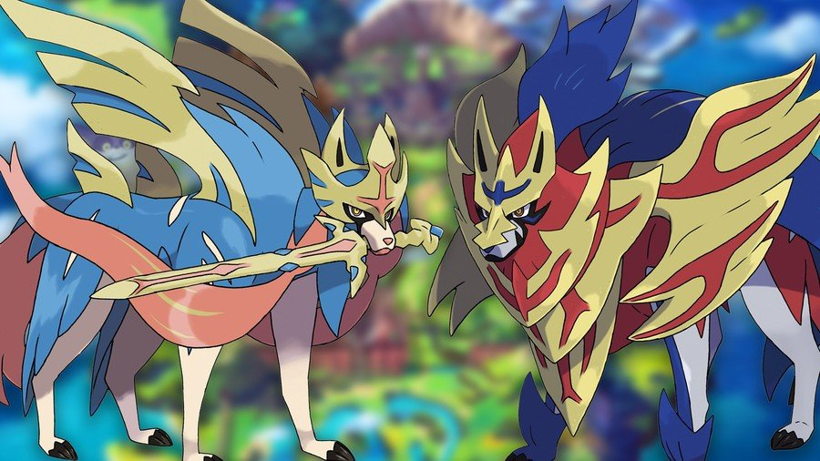 Legendary Pokemon Sword And Shield