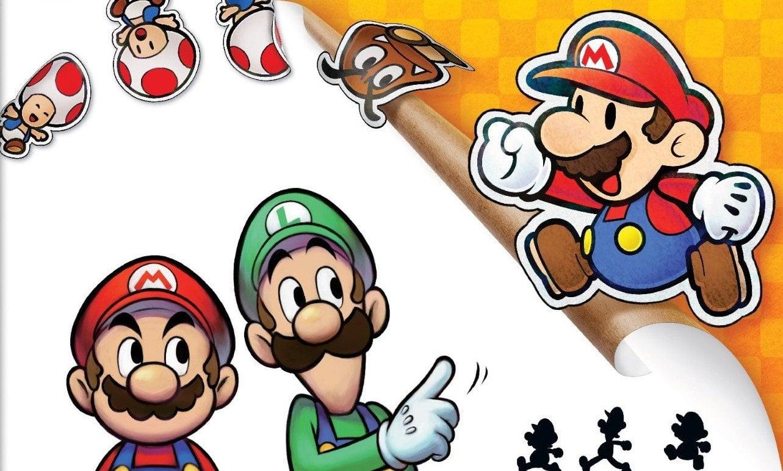 Mario Luigi Paper Jam Secures Top 10 Place In Single Format Npd
