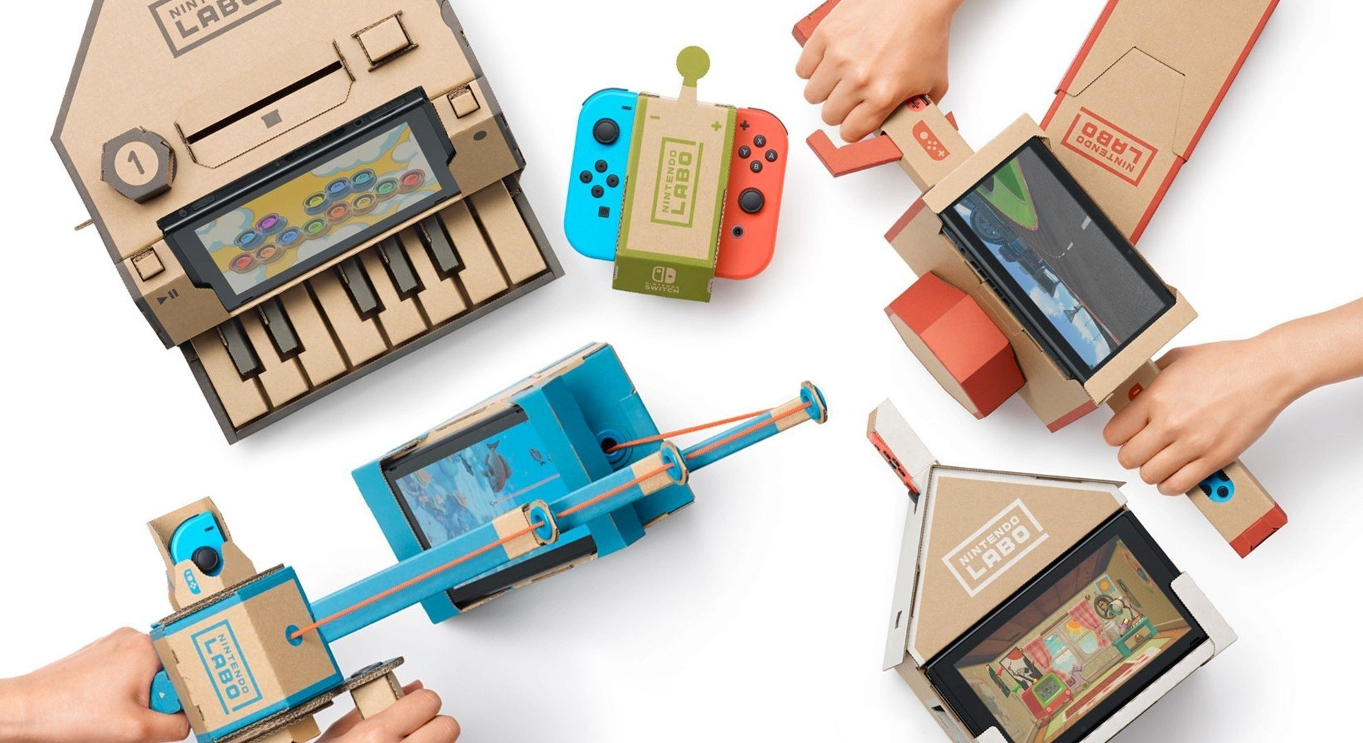 "Nintendo President Says Company Is Working On ""New Methods"" For Nintendo Labo"