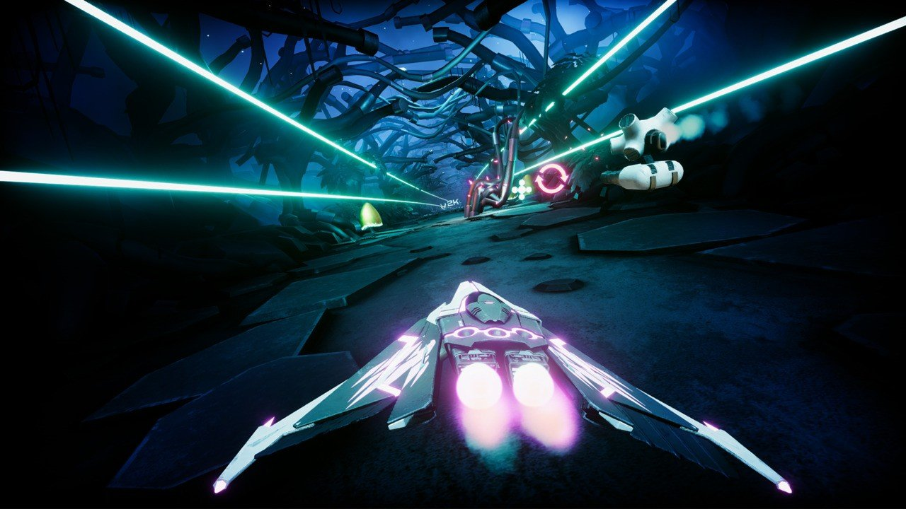 Wipeout-Inspired Shooter Lost Wing Speeds Onto Switch Later This Month thumbnail