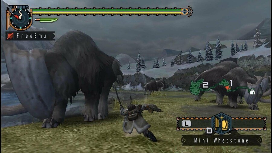 Monster Hunter Freedom 2 (PSP, 2007)