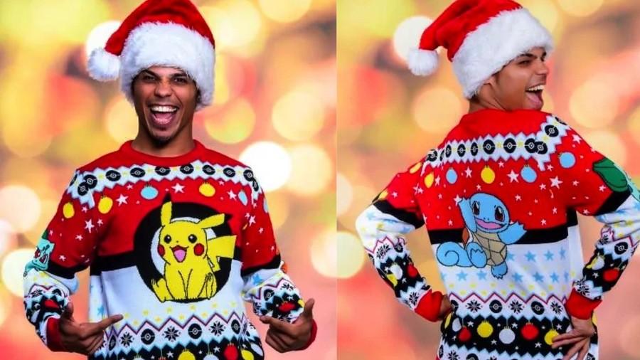 Pokemon Christmas Jumper