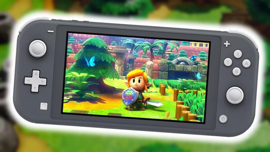 Zelda Switch Lite