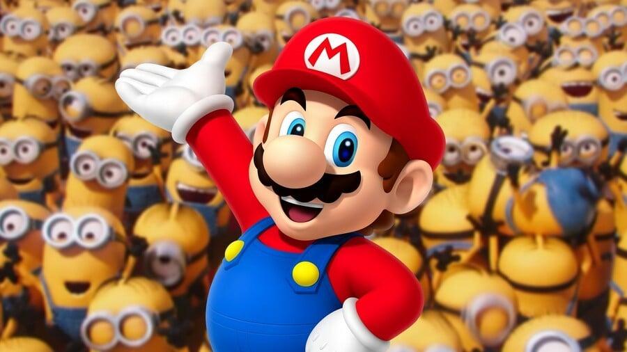 Minions and Mario