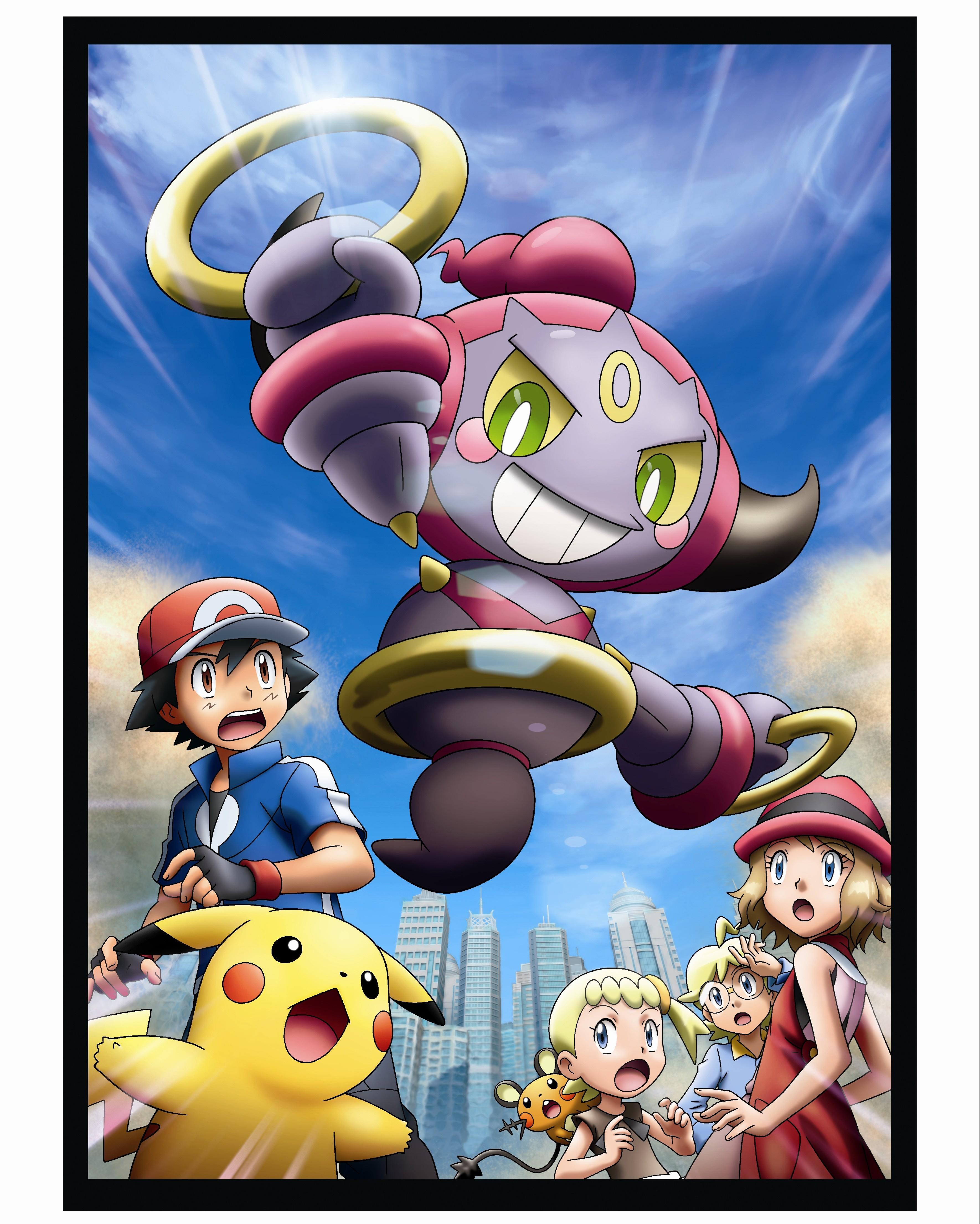 Pokemon The Movie Hoopa And The Clash Of Ages Heading To Cartoon